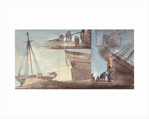 Paying a ship by William Payne