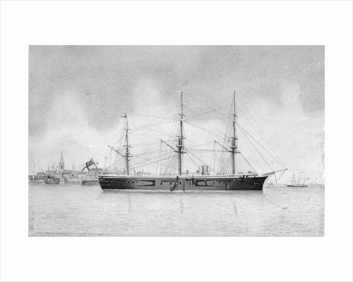 HMS 'Penelope' at Harwich by unknown