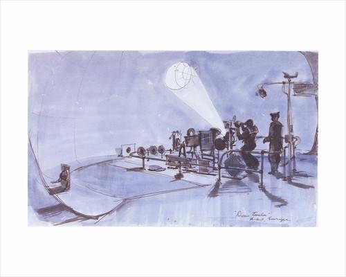 Dome teacher, HMS 'Europa' by Herbert Hastings McWilliams