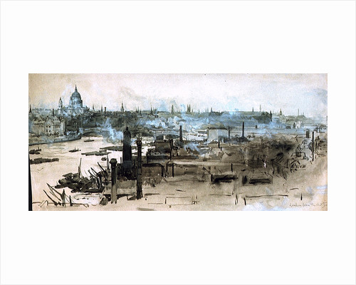 London from the Shot Tower by William Lionel Wyllie