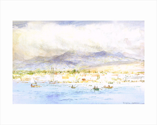 Kingston, Jamaica by William Lionel Wyllie