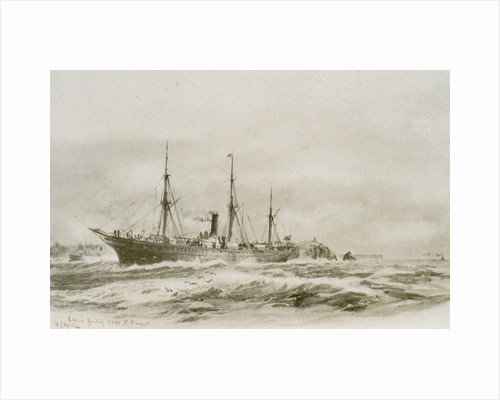 Cuzco rounding Cape St. Vincent by William Lionel Wyllie