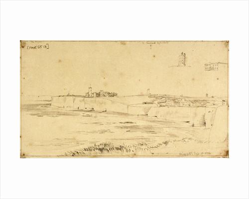 Two weyschuits near the shore by Willem Van de Velde the Younger