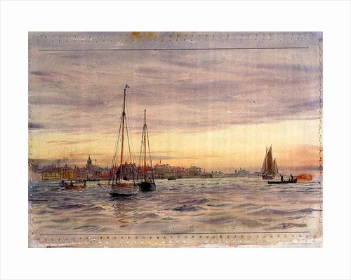Portsmouth Point by William Lionel Wyllie