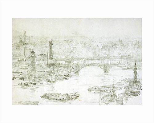 Shot Tower by William Lionel Wyllie