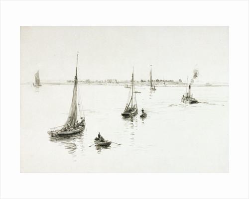 Bawleys, Tilbury by William Lionel Wyllie