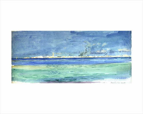 Alexandria from Marabout by William Lionel Wyllie