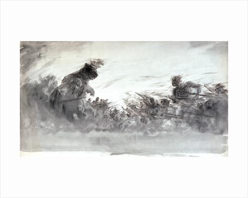 War clouds by William Lionel Wyllie