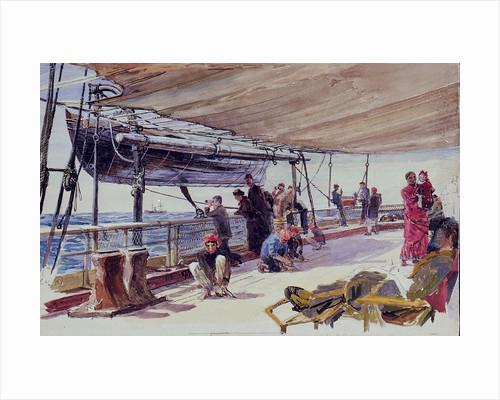 Aboard the Garonne in the West Indies by William Lionel Wyllie