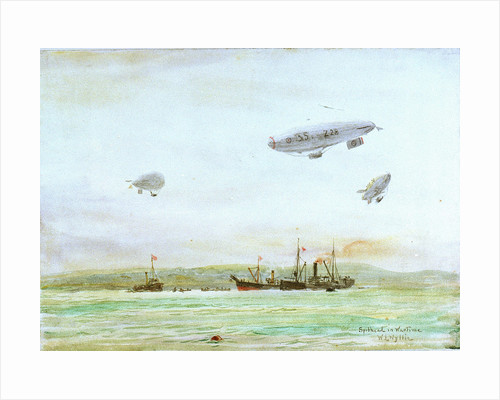 Spithead in Wartime by William Lionel Wyllie