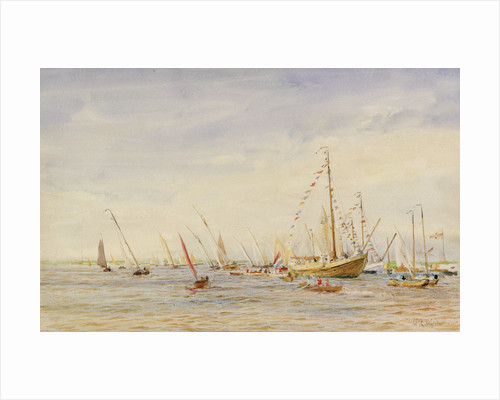 Racing, Zuider Zee by William Lionel Wyllie