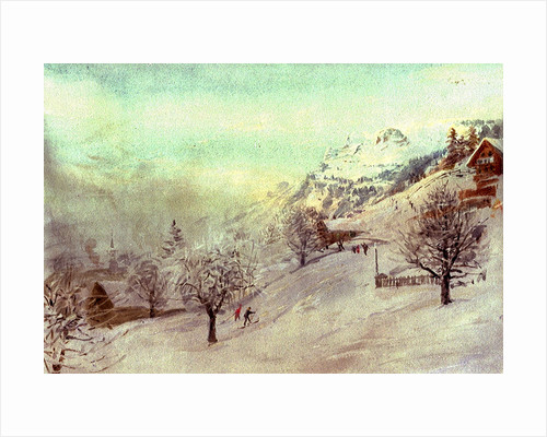 Grindelwald by William Lionel Wyllie