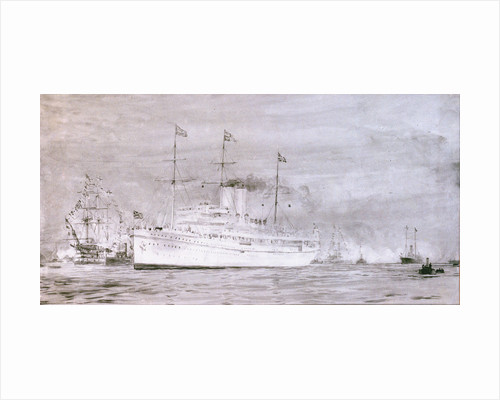 HMS 'Medina' by William Lionel Wyllie