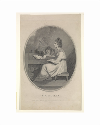 Emma Hamilton as St Caecilia by Joshua Reynolds