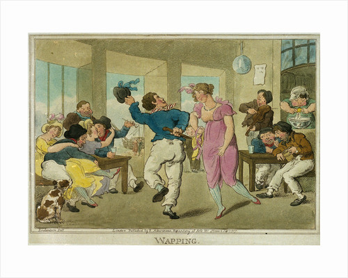Wapping by Thomas Rowlandson