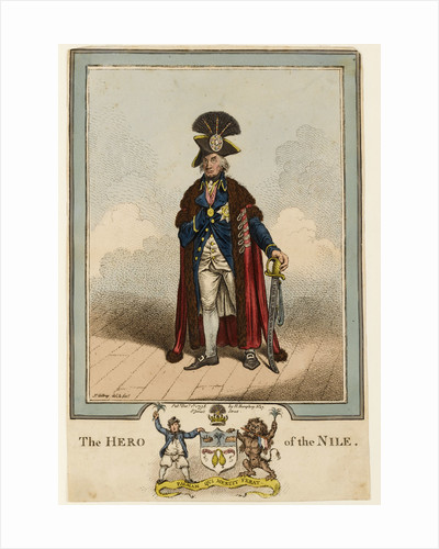 The Hero of the Nile by James Gillray