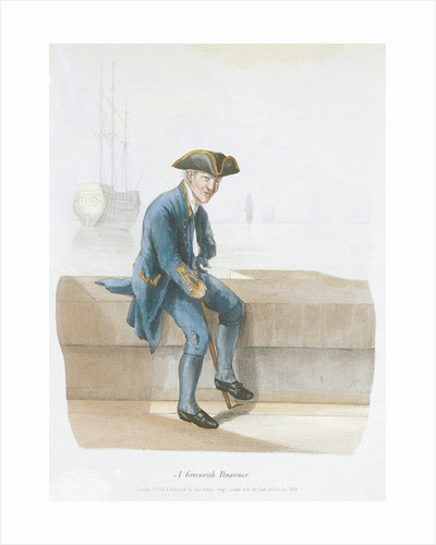A Greenwich Pensioner (uniform) by Engelmann