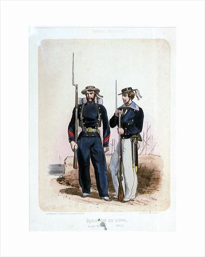 Equipages de Ligne (Quartier Maitre, Matelot) (uniform) by de Villain