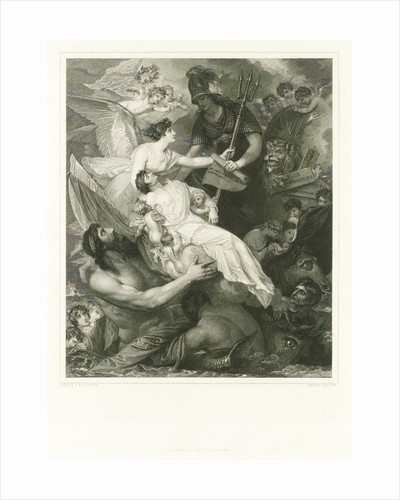 Apotheosis of Nelson by Benjamin West