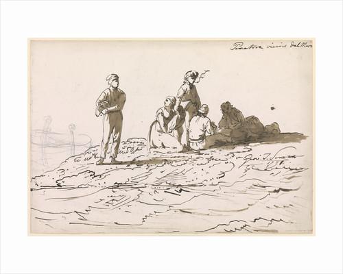 Neapolitan Fisherfolk by John Thomas Serres