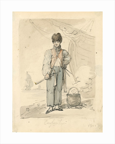 Carpenter by Thomas Rowlandson