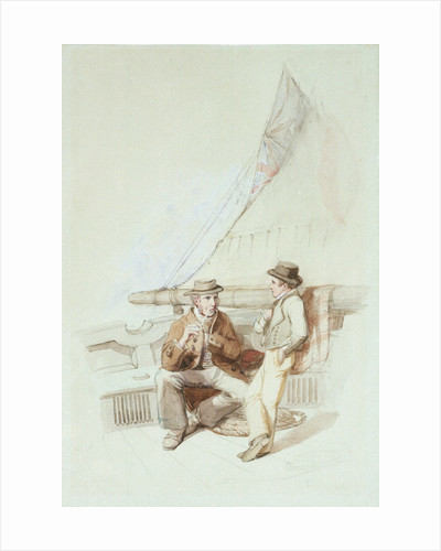 Bramble and Jack carried into a French port by Clarkson Stanfield