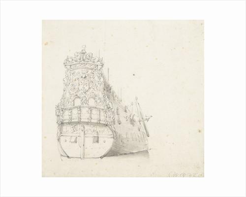 Portrait of the 'Zutphen' by Willem Van de Velde the Younger