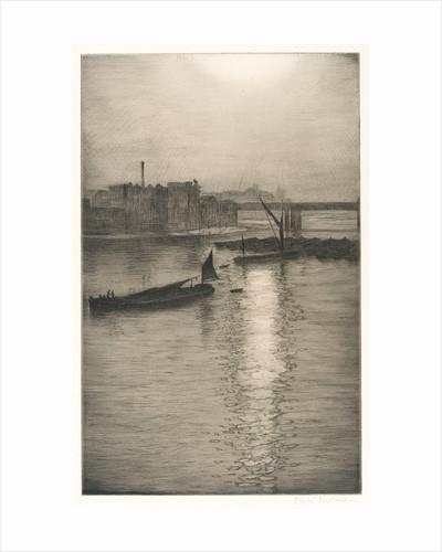 From Waterloo Bridge by Christopher Richard Wynne Nevinson