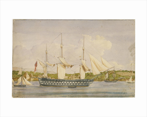 HMS 'Cambridge', Beyrout by unknown
