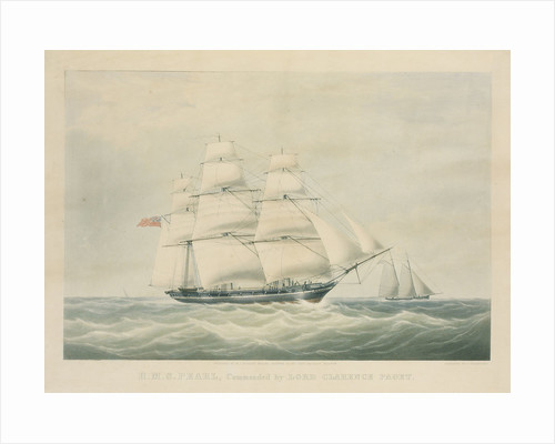 HMS 'Pearl', commanded by Lord Clarence Paget by C. Rosenberg