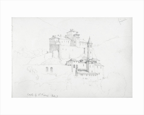 Castle of St Pierre, 7 July 1858 by John Brett