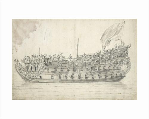 The 'St Andrew'? by Willem van de Velde the Elder