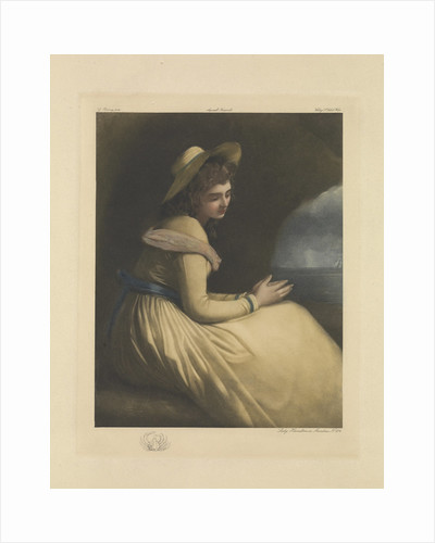 Lady Emma Hamilton as Ariadne by George Romney