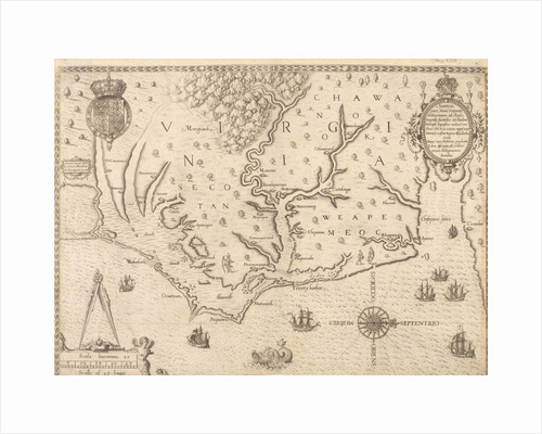 Map of Virginia by unknown