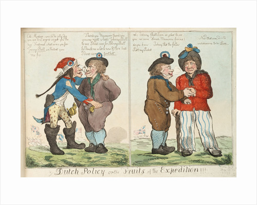 Dutch Policy or the Fruits of the Expedition!!! by Isaac Cruikshank