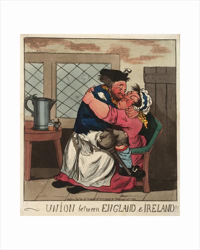 Union between England & Ireland by William Holland