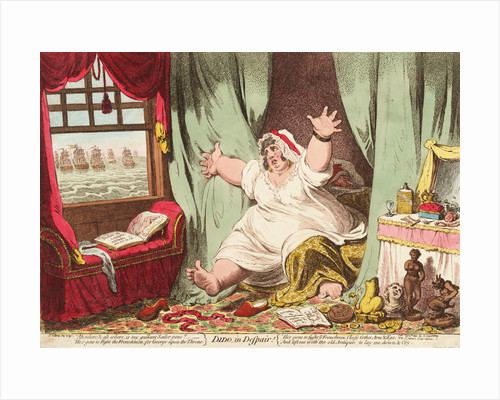 Dido in Despair by James Gillray