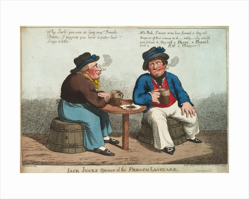 Jack Junk's Opinion of the French Language by George M. Woodward