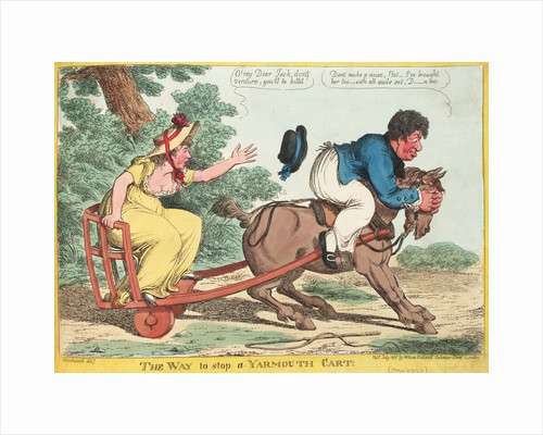 The Way to Stop a Yarmouth Cart! by George M. Woodward