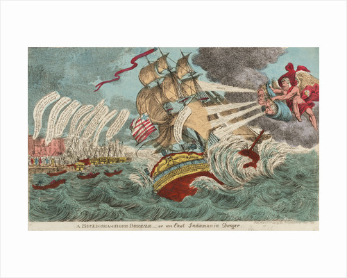 A Buckinghamshire Breeze - or an East Indiaman in Danger by Williams