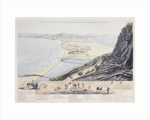 References to the print of the Sortie made by the Garrison of Gibraltar in the morning of the 27th November 1781 by A. C. de Poggi (publisher)