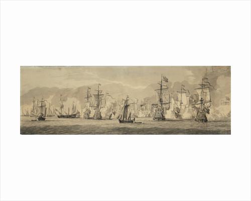 Dutch fleet by Willem van de Velde the Elder