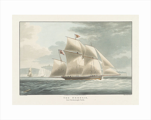 Earl Harborough's yacht 'Emmetje' by William John Huggins