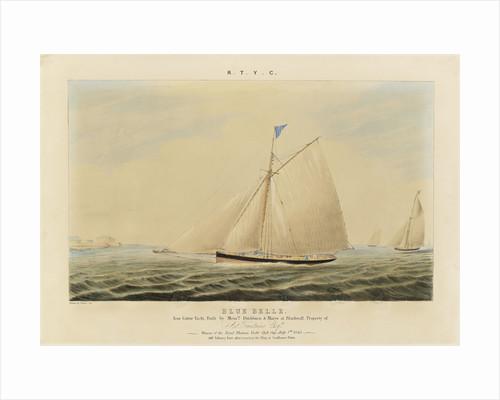 'Blue Belle' iron cutter yacht by J. Rogers