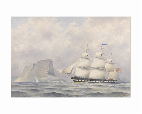 Clipper Ship 'Norwood' (1854) by A. E. Morris