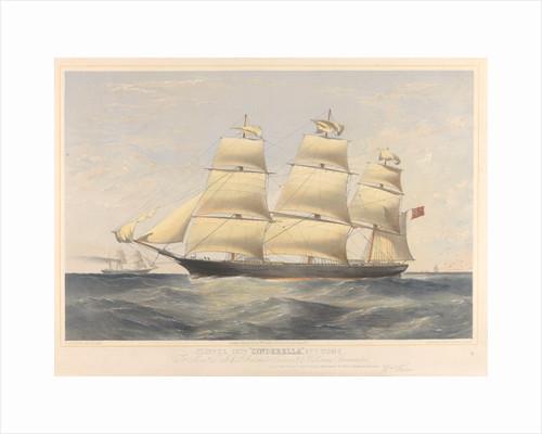 Clipper ship 'Cinderella' by Thomas Goldsworth Dutton
