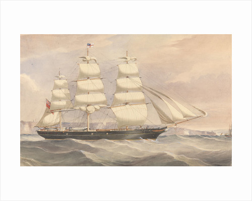 'Silver Eagle' (1861) clipper ship by unknown