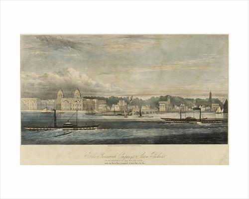 Greenwich Pier by William Ranwell