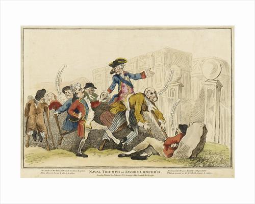Naval Triumph or Favors Confer'd by J. Harris