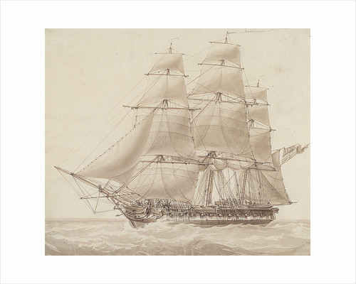 American corvette by William John Huggins